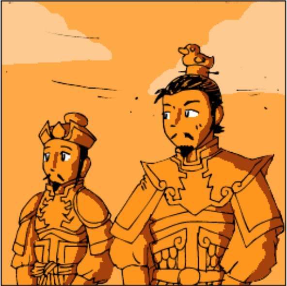 Tam Quốc Diễn Nghĩa truyện tranh hài 4-14