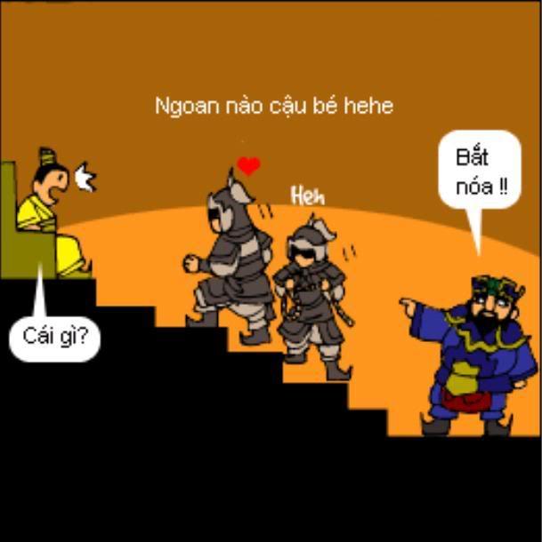 Tam Quốc Diễn Nghĩa truyện tranh hài 4-15