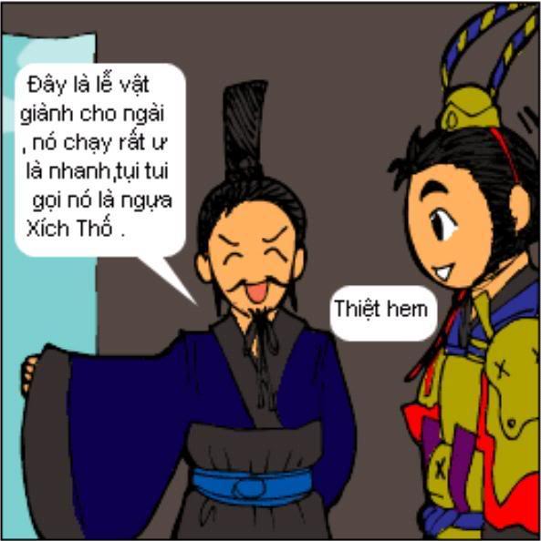 Tam Quốc Diễn Nghĩa truyện tranh hài 4-16