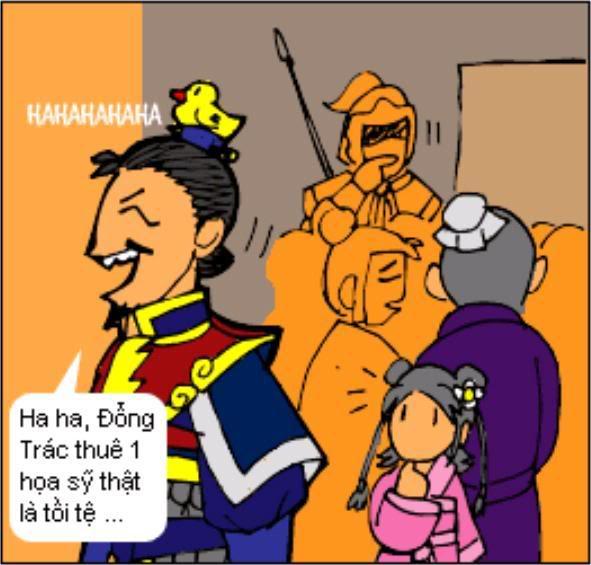 Tam Quốc Diễn Nghĩa truyện tranh hài 4-18