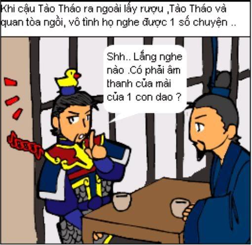 Tam Quốc Diễn Nghĩa truyện tranh hài 4-19