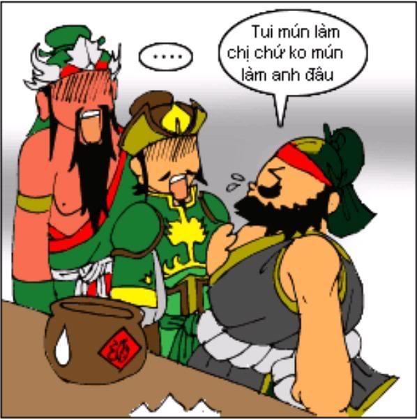 Tam Quốc Diễn Nghĩa truyện tranh hài 4-7