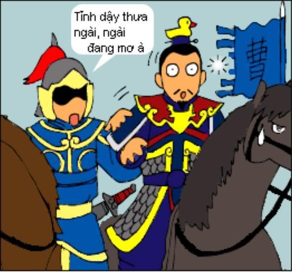 Tam Quốc Diễn Nghĩa truyện tranh hài 5-10