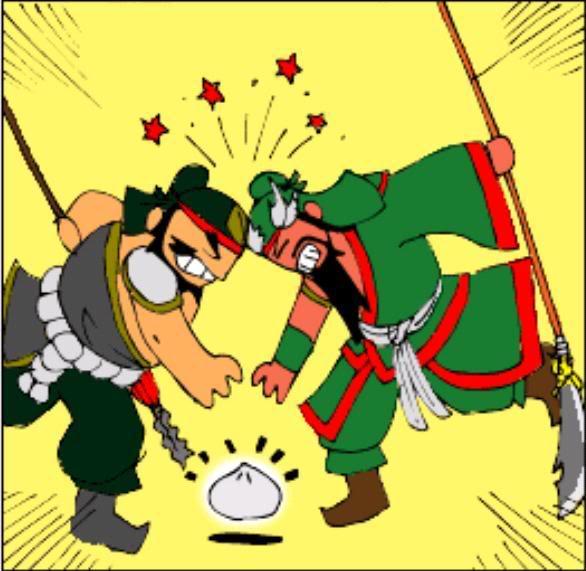 Tam Quốc Diễn Nghĩa truyện tranh hài 5-11