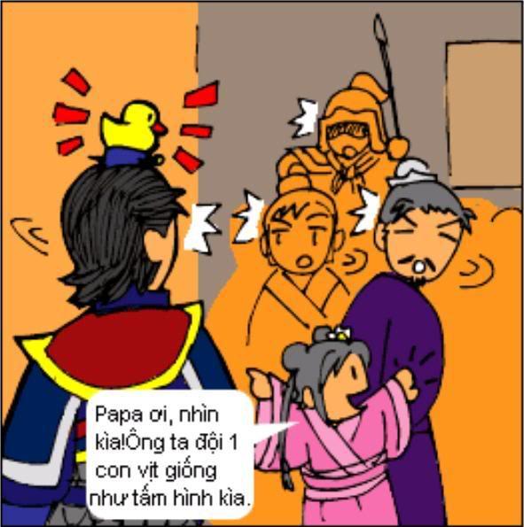 Tam Quốc Diễn Nghĩa truyện tranh hài 5-17