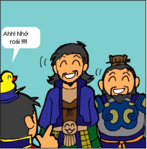 Tam Quốc Diễn Nghĩa truyện tranh hài 5-19