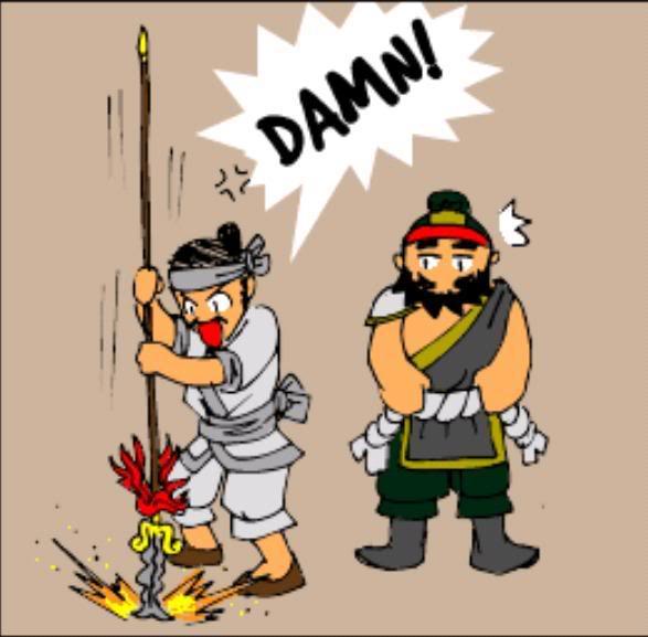 Tam Quốc Diễn Nghĩa truyện tranh hài 5-8