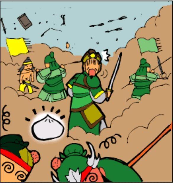 Tam Quốc Diễn Nghĩa truyện tranh hài 6-3