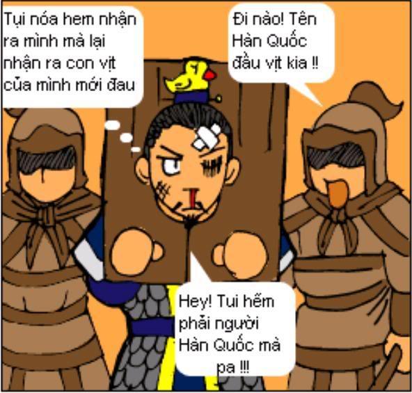 Tam Quốc Diễn Nghĩa truyện tranh hài 6-5
