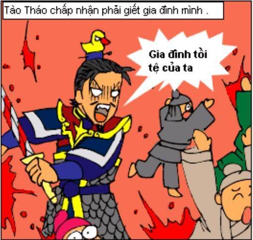 Tam Quốc Diễn Nghĩa truyện tranh hài 6-6