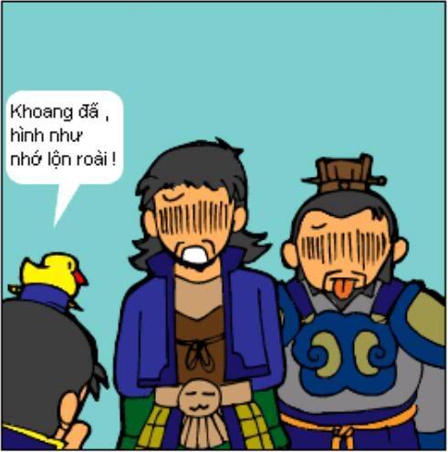 Tam Quốc Diễn Nghĩa truyện tranh hài 6-7