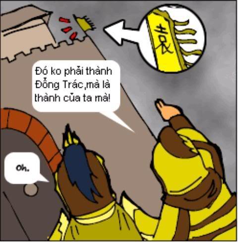 Tam Quốc Diễn Nghĩa truyện tranh hài 6-8