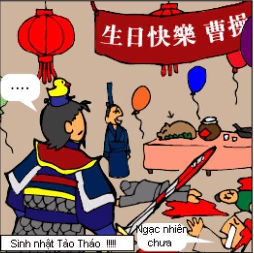 Tam Quốc Diễn Nghĩa truyện tranh hài 7
