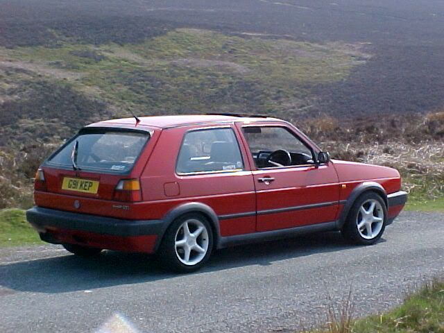 My Dub's Past and present 1990MK2GOLFGTIG91KEP