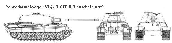 Panzerkampfwagen VI Ausf. B Kingtigerspecs