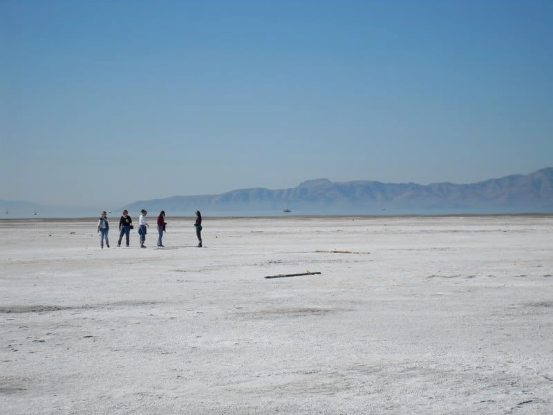 Pictures from the Great Salt Lake itself SDC10215