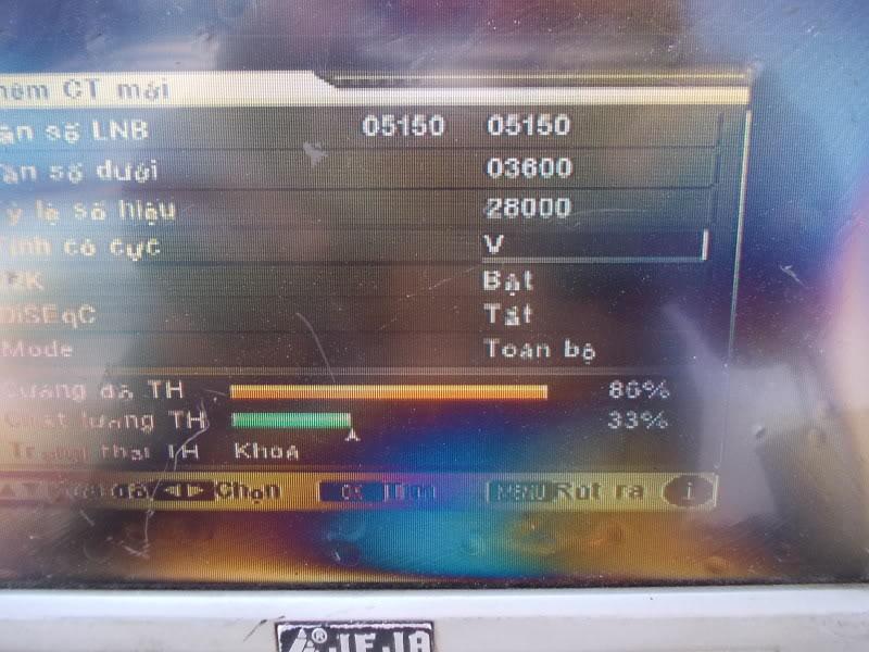 Ku và C Telkom 108*E DSCN5597