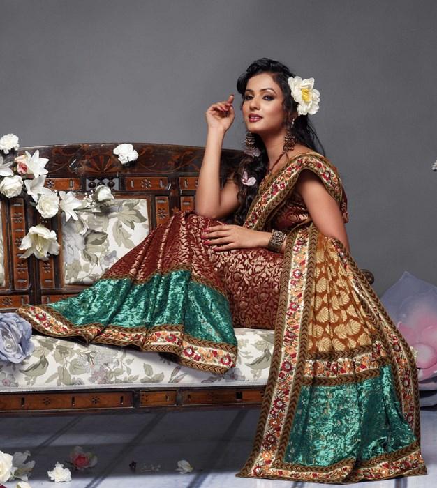 Indian Women in Beautiful Saree India1