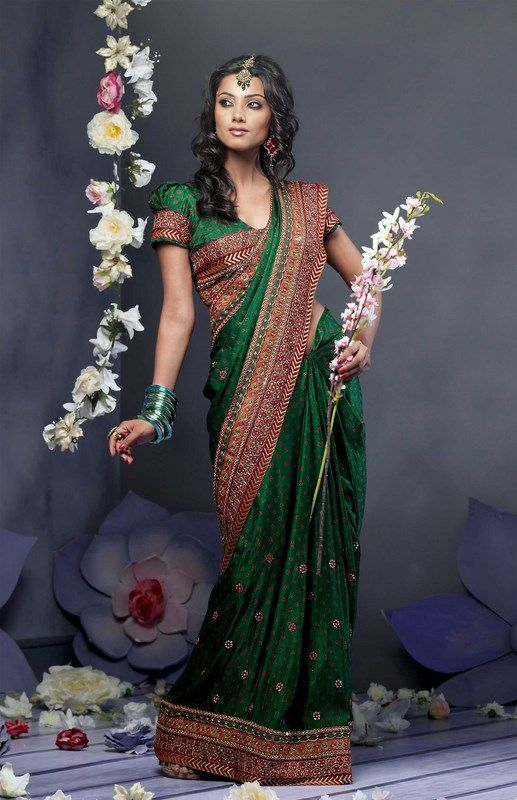 Indian Women in Beautiful Saree India13