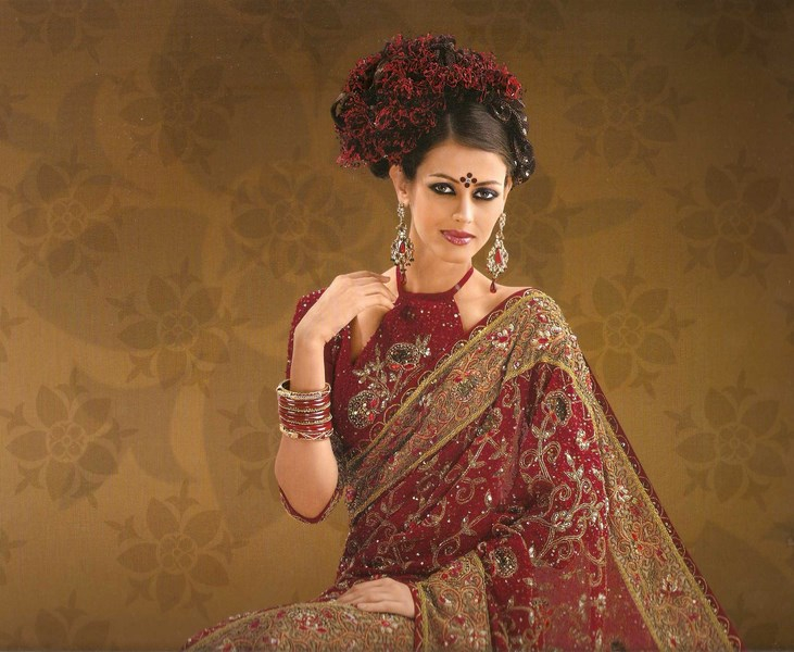 Indian Women in Beautiful Saree - Page 2 India57