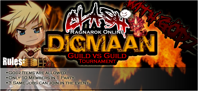 [EVENT] Guild vs Guild With-godz