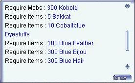 [GUIDE] Colored Wanderer's Sakkat Quest Requirements