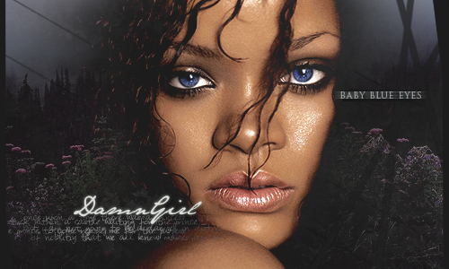 Rock Mafia ~ DamnGirl's Gallery Rihannablueeyes