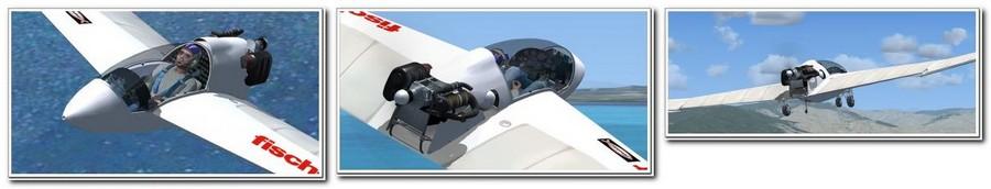 Avião gratuito ofertado pela Aerosoft - Mitchell Wing U2 2012-06-26_075006