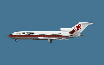 Captain Sim Boeing 727-100 (Review de Fontenele) TAP727-821987