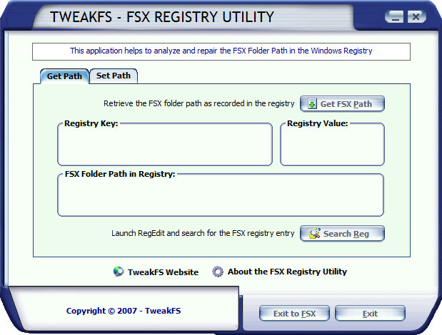 "Corrigindo o erro ""Your registry does not show a valid fsx installation location"" Fsregutility01_zpsbhbhhqfc"