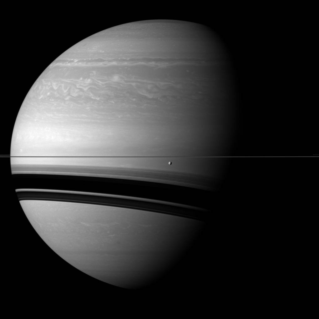 Saturn - Before Wide Shadows - Cassini Photo 7026_16844_1