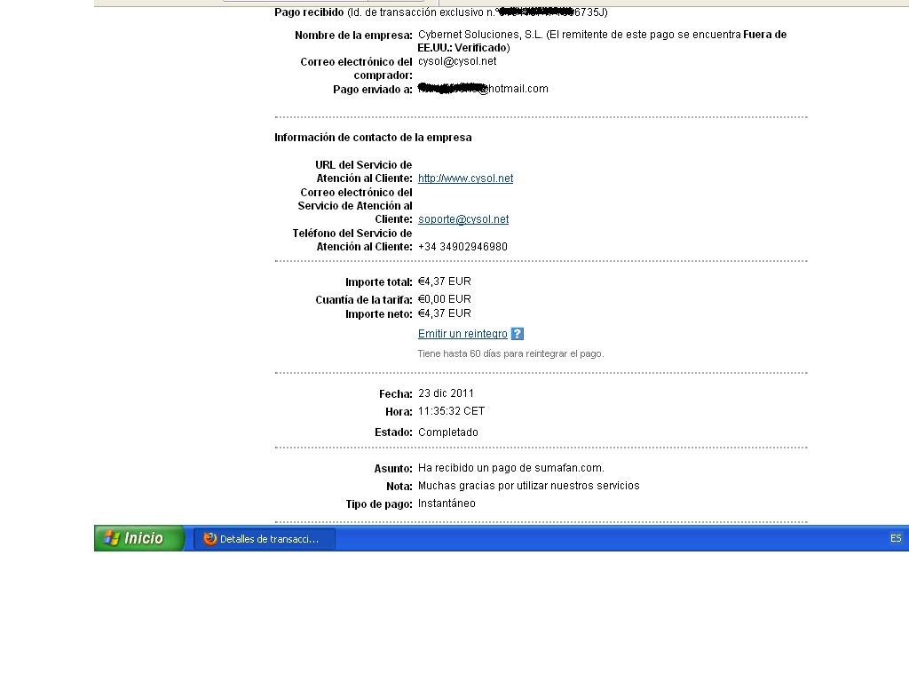 1º pago sumafan-4,37€ 1pagosumafan