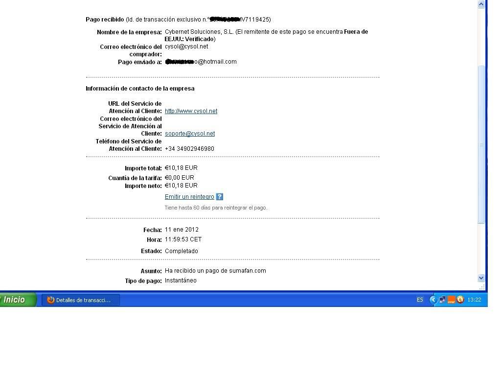 2º pago sumafan-10,18€ 2pagosumafan