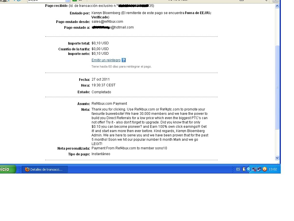 3º pago ref4bux-0.10$ 3pagoref4bux