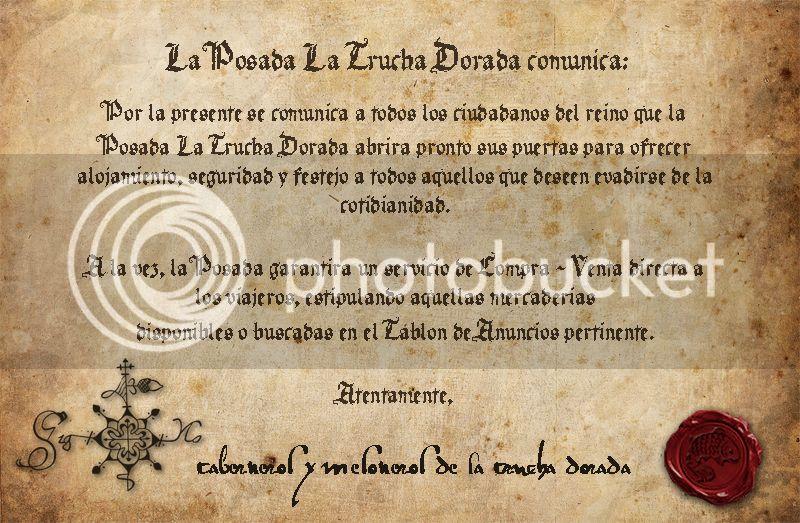 La Trucha Dorada - Posada y Taberna Documento1