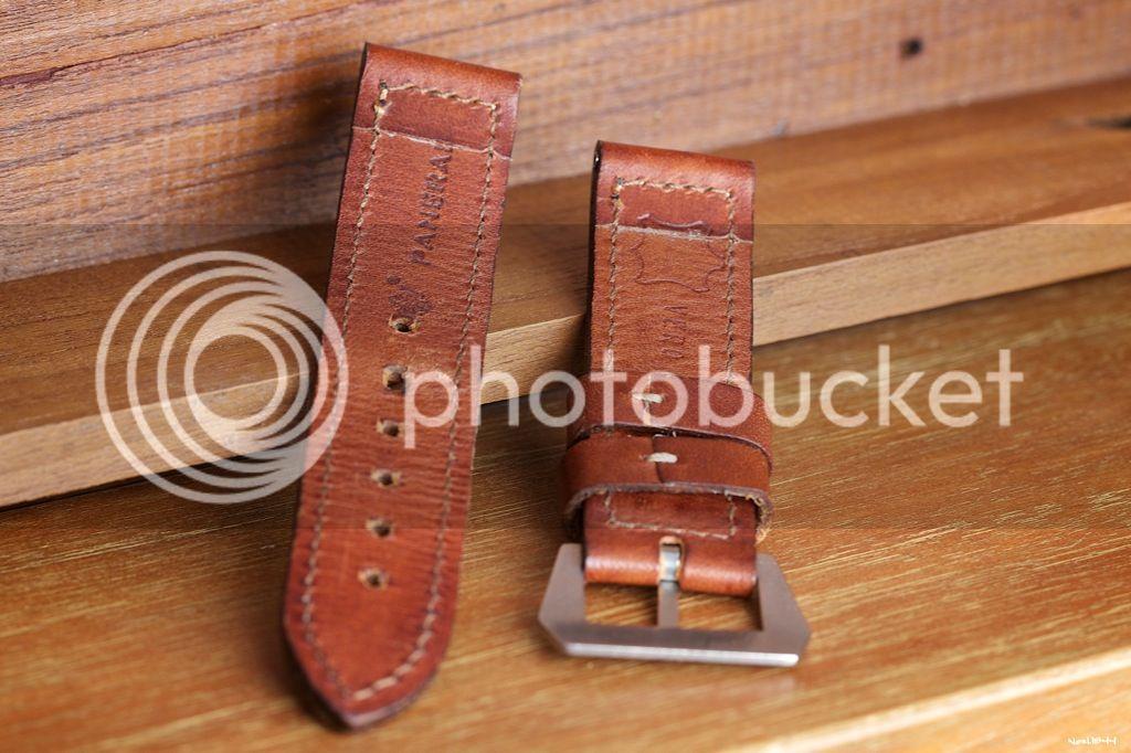 VENDU Bracelet Panerai 24x24 Dirk Pre-V Logo buckle - 190€ BB0A7172