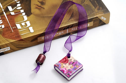 Provocare nr. 23 - Polymer clay bookmark 4726562887_d8d1872bc8