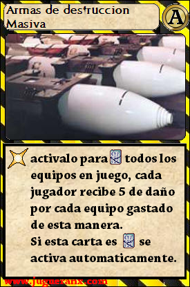 Tienda de Cartas Janx - Página 2 Armasdedestruccionmasiva