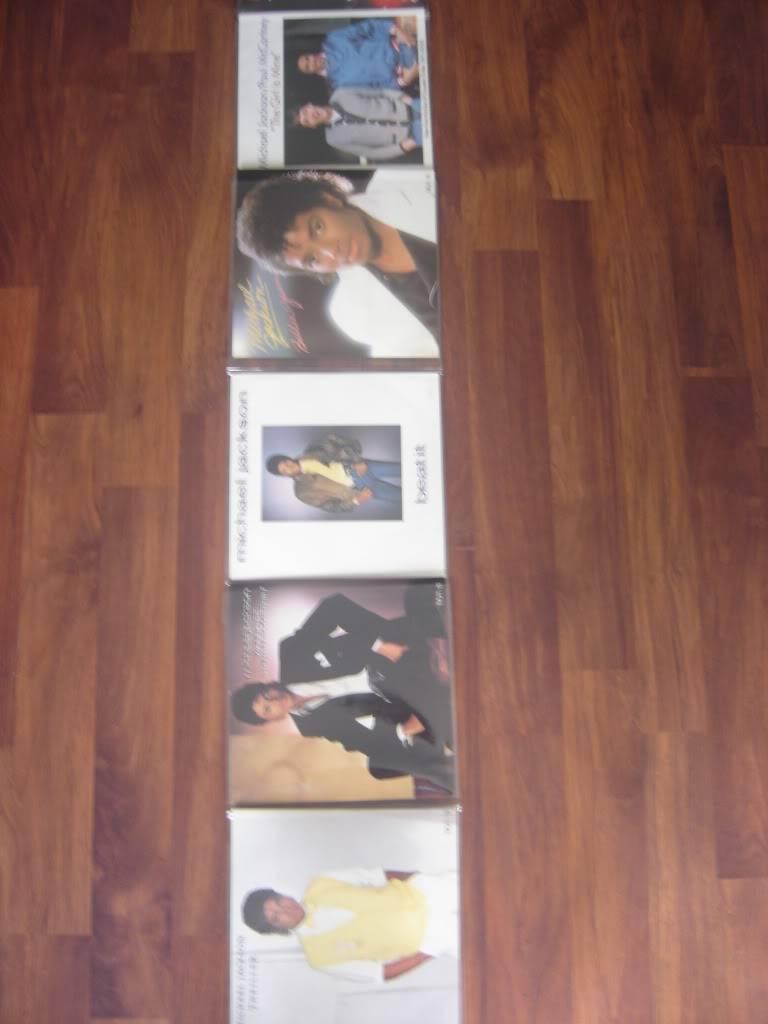 Michael Jackson 9 Singles Pack DSC07465