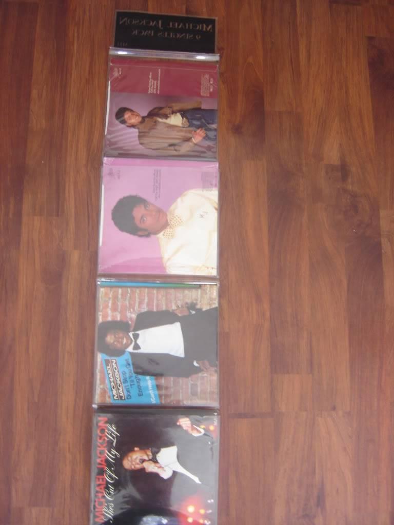Michael Jackson 9 Singles Pack DSC07466