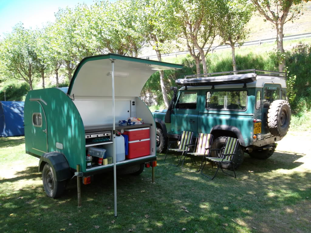 land rover 90 & teardrop trailer SAM_0493