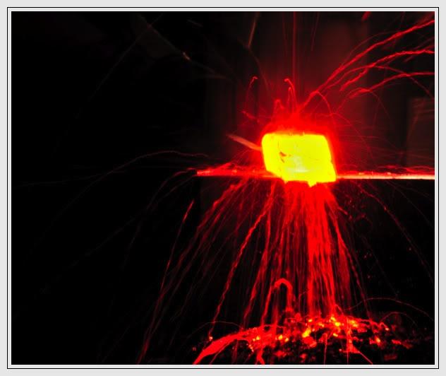 Feux et sueurs; images de forge Cout13ATOC