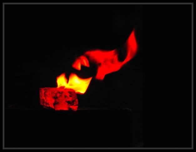 Feux et sueurs; images de forge Cout1ATOC