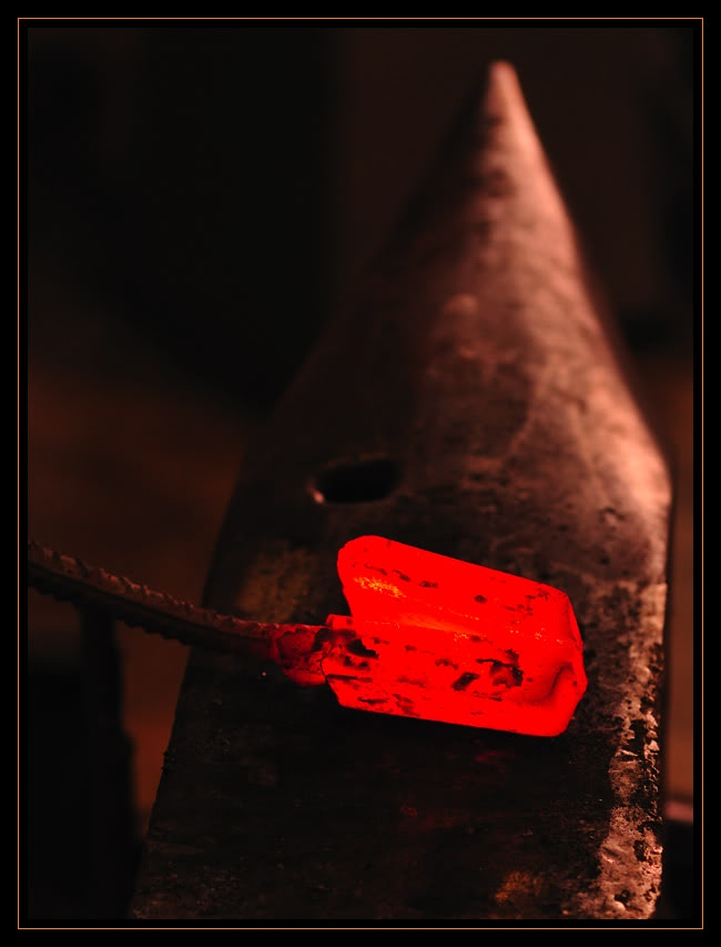Feux et sueurs; images de forge Cout6ATOC