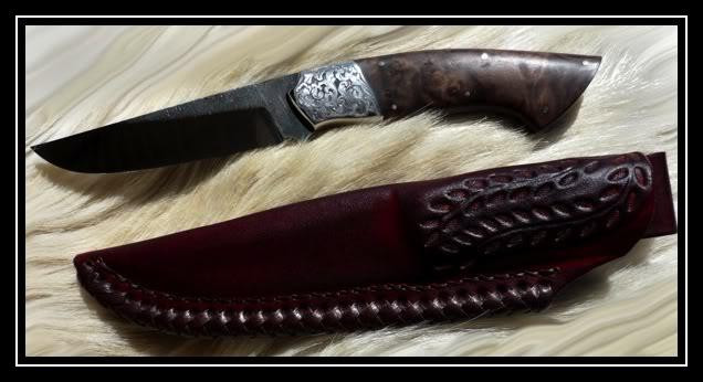 Couteaux Droits Brut de Forge CC