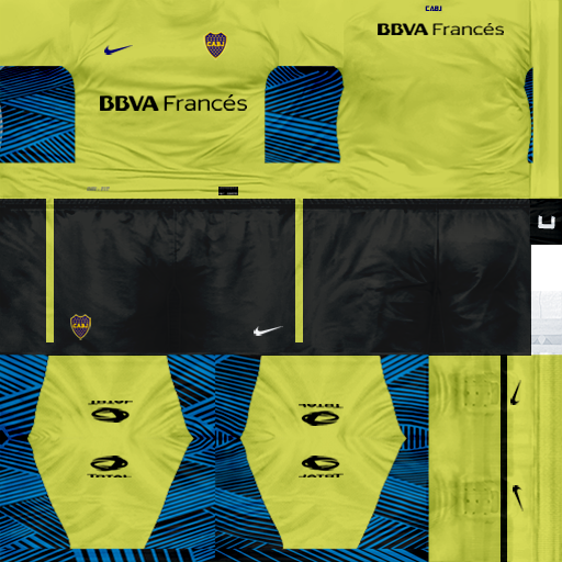 Kits by juanromanriquelme2011 - Boca Especial 2012 BocaArqueroAlternativaBBVA11-12-1