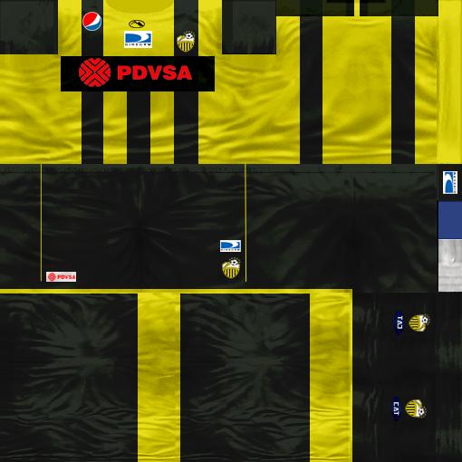 Kits by juanromanriquelme2011 - Boca Especial 2012 DeportivoTachira11-12
