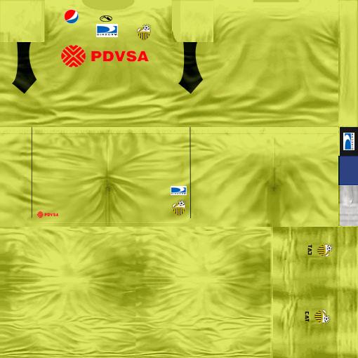 Kits by juanromanriquelme2011 - Boca Especial 2012 DeportivoTachiraArquero11-12