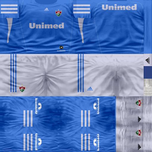 Kits by juanromanriquelme2011 - Boca Especial 2012 FluminenseArqueroSuplente11-12