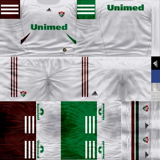 Kits by juanromanriquelme2011 - Boca Especial 2012 FluminenseSuplente11-12